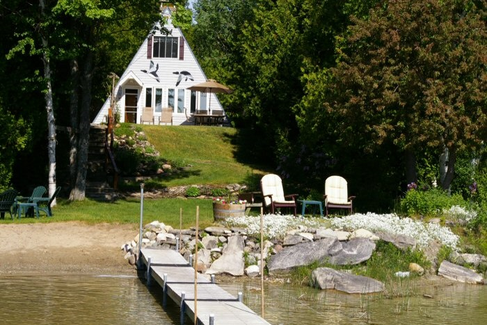 waterfront cottage rental on cameron lake  bruce peninsula cottage rental near parry sound cottages for rent parry sound