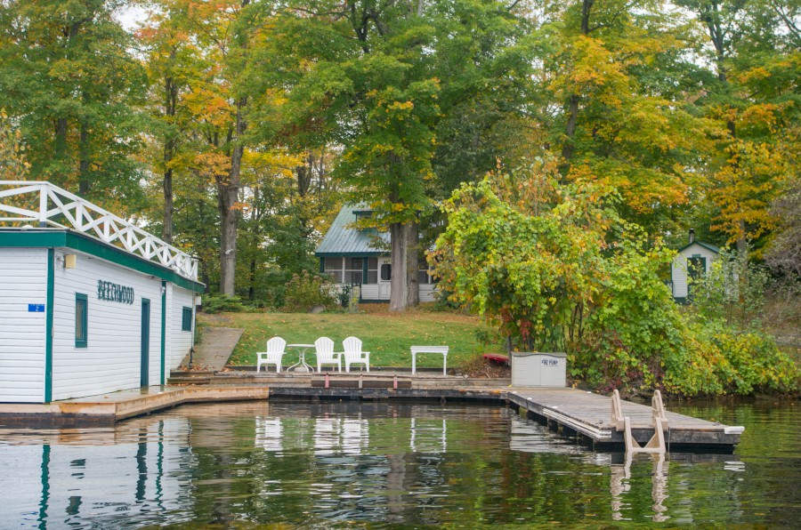 Ontario Cottage Rental Private Island On Gloucester Pool