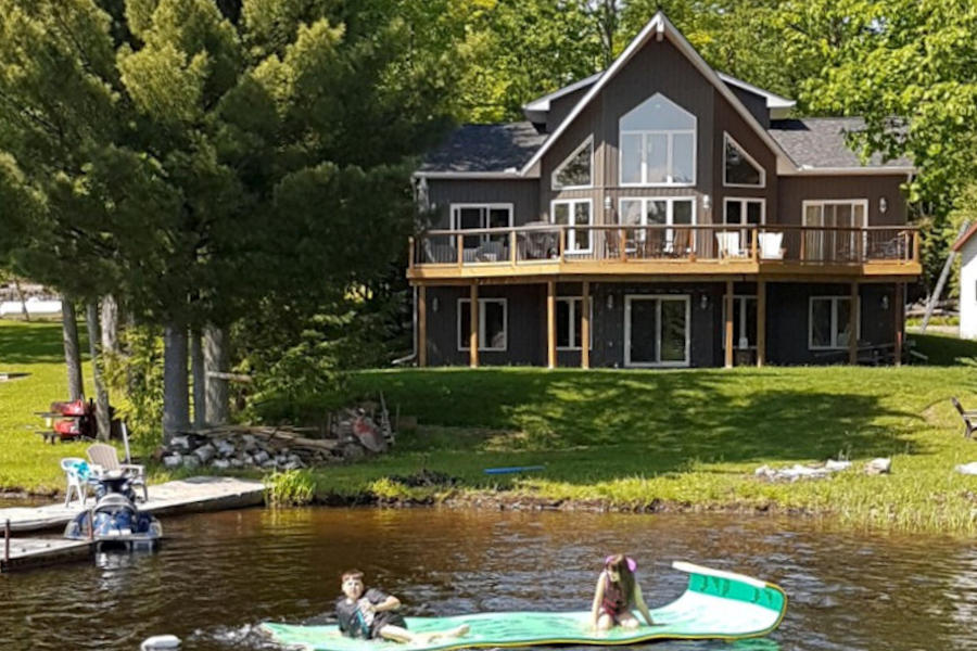 Sensational Ontario Cottage Rental Maclean Lake Near Orillia Coldwater Interior Design Ideas Skatsoteloinfo