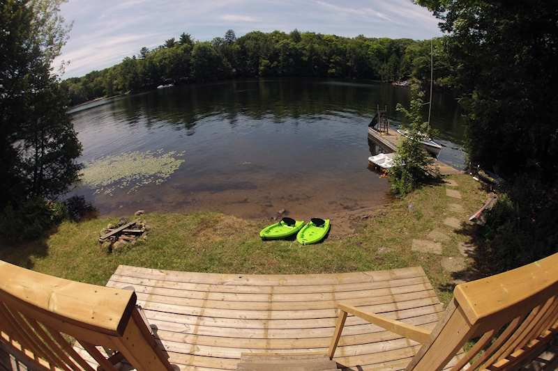 Echo Lake Ca >> Private lakefront cottage on Otter Lake, near Parry Sound