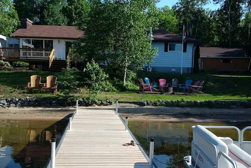 waterfront cottage with spectacular beach near barry s bay rh clrm ca