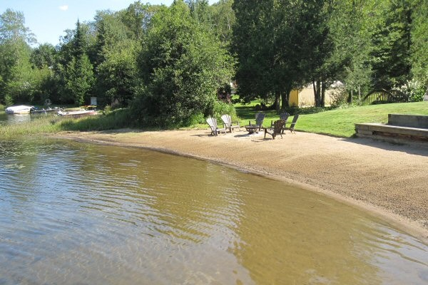 Cottage For Rent With Sandy Beach Near Bancroft