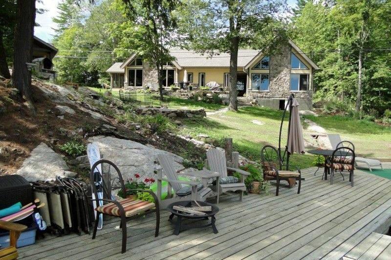 Brilliant Luxury Severn River Cottage Rental Near Coldwater Ontario Interior Design Ideas Skatsoteloinfo