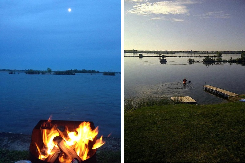 St Lawrence River cottage rental, near Thousand Islands on For Living Lawrence Fire Pit id=92762